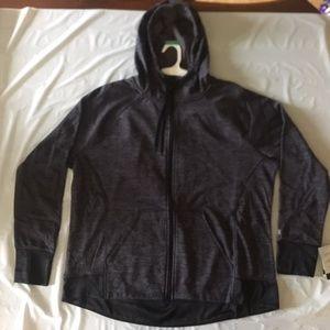 Women's Plus-Size Tech Fleece Zip Front Jacket
